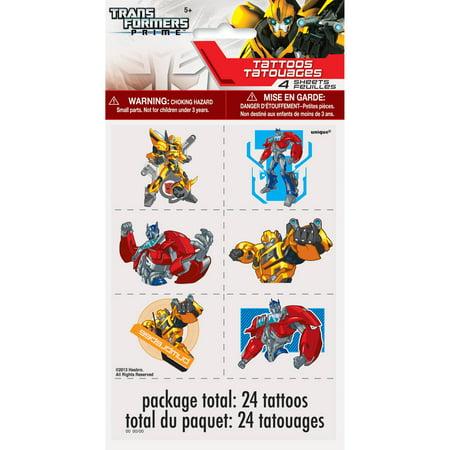 Transformateurs Tatouages, 24ct