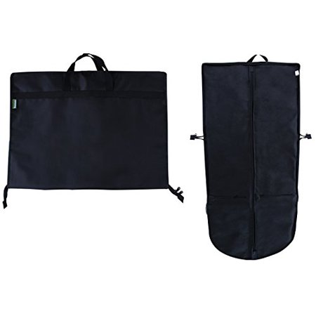 Earthwise Travel Garment Bag Foldable Heavy Duty Oxford Nylon with Multiple Storage Compartments ()