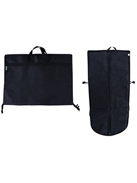 Earthwise Travel Garment Bag Foldable Heavy Duty Oxford Nylon with Multiple Storage Compartments