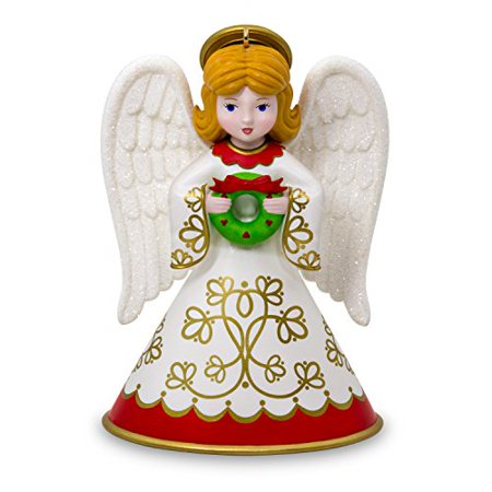 Hallmark Heirloom Angels #2 Wreath Keepsake Christmas Ornament ()