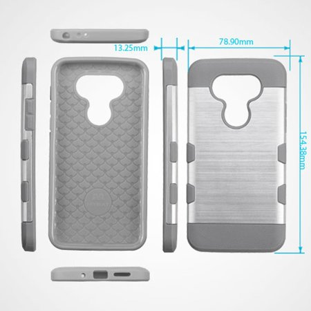 wholesale dealer b8db6 93c85 LG G5 Phone Case, LG G5 Case, by Insten Hard TPU Cover Case For LG G5 case  cover