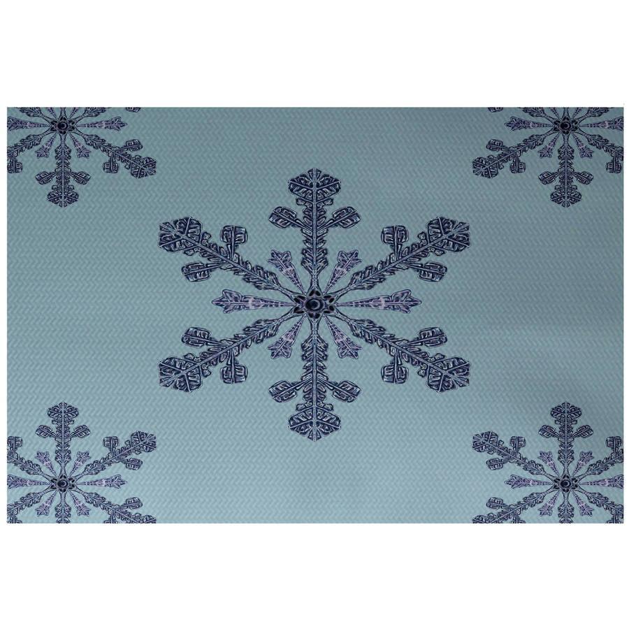 Simply Daisy 3' x 5' Vail Decorative Holiday Print Indoor Rug