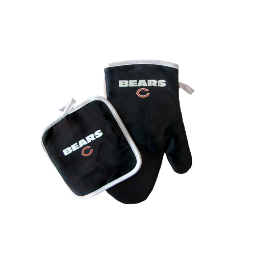 Chicago Bears NFL Oven Mitt and Pot Holder Set by Pro Specialties Group