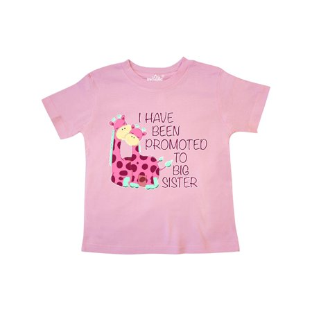 i have been promoted to big sister pink Toddler T-Shirt