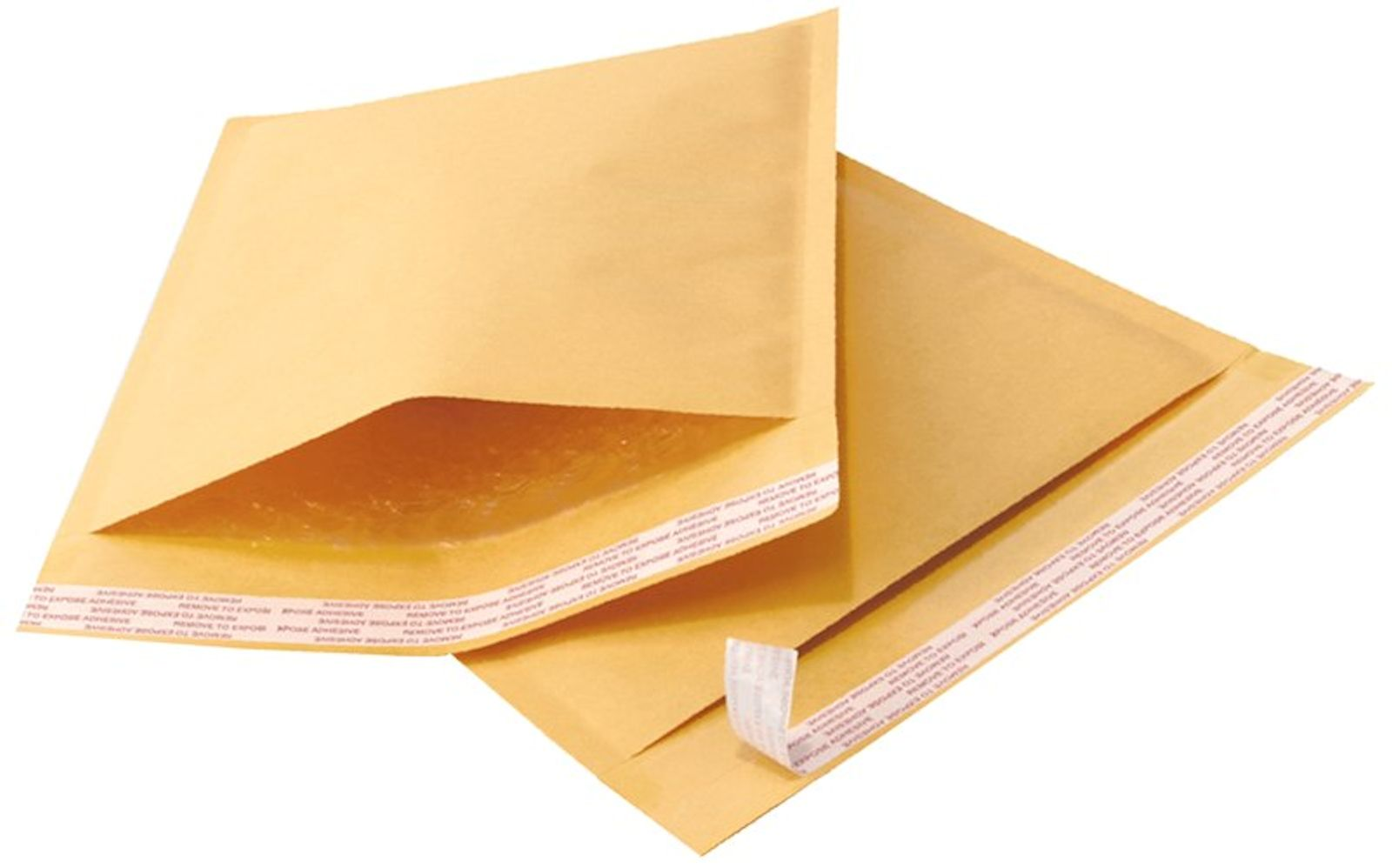 "25 4x8 Kraft Bubble Mailers Padded Envelope Shipping Bags Usable 4""x8"" by"