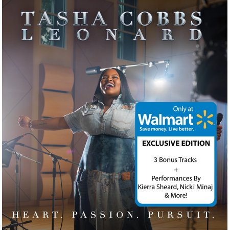 Tasha Cobbs Leonard - Heart. Passion. Pursuit. (Walmart Exclusive)