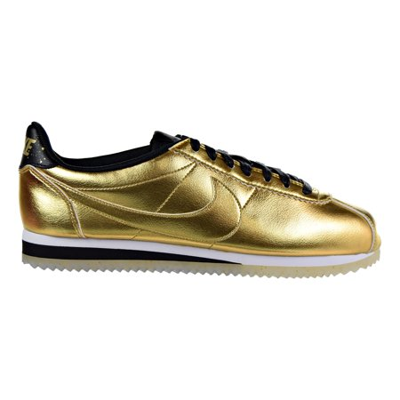 Nike Classic Cortez Women's Running Shoes Metallic Gold/Metallic Gold/White/Black