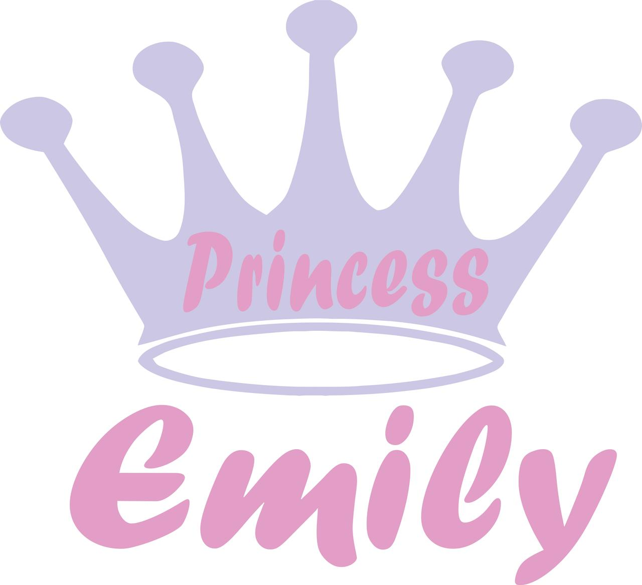 Personalised 3 Piece Girls Cutlery Set PRINCESS CROWN Motif