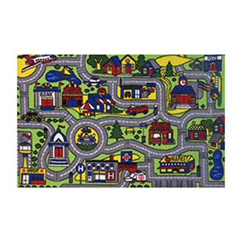 Fun Rugs Fun Time Driving Time Novelty Rug, 19 x 29""