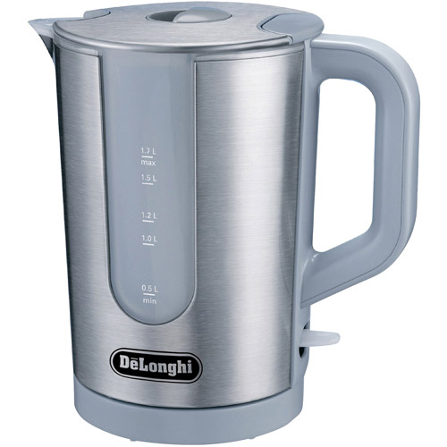 Delonghi  Stainless Steel Electric Kettl