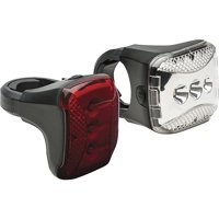 Bell Sports Radian 650 Bicycle Headlight/Taillight Set, Black