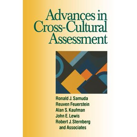 Advances in Cross-Cultural Assessment by