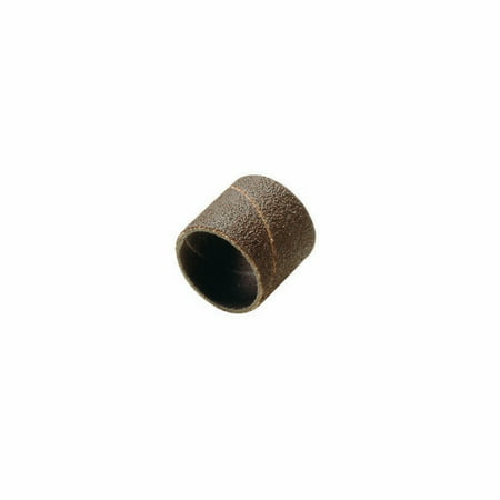Dremel 432 1/2 inch 120-Grit Fine Sanding Bands for Wood, Fiberglass, Metal, and