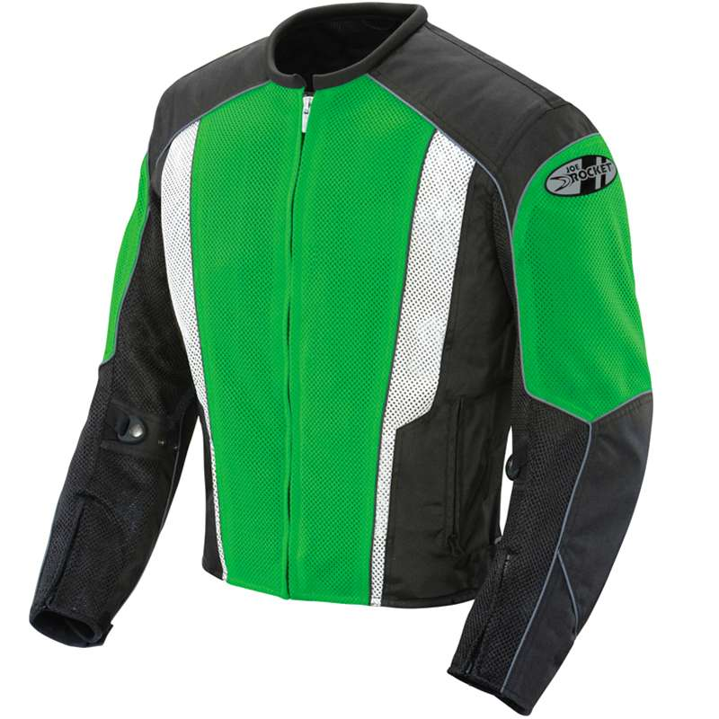 Joe Rocket Phoenix 5.0 Mesh Jacket Green/Black