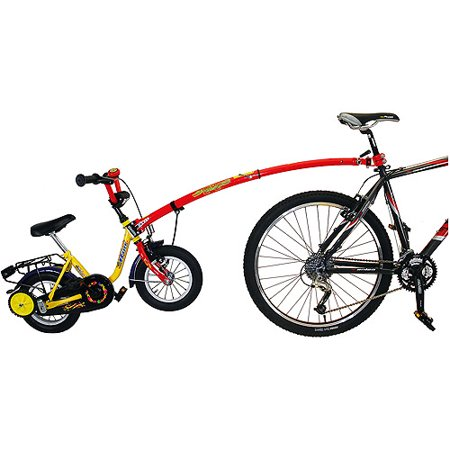 Child Bike Tow Bar (Trail-Gator Children's Red Trailer Tow Bar )