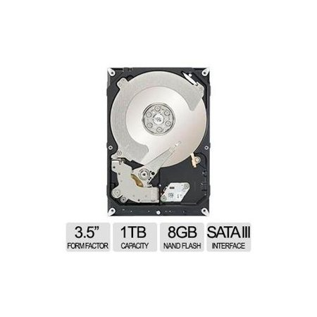 Seagate Desktop Solid State Hybrid Drives 1tb 8 Gb Nand Flash 3 5 In Sata 600 Internal St1000dx001