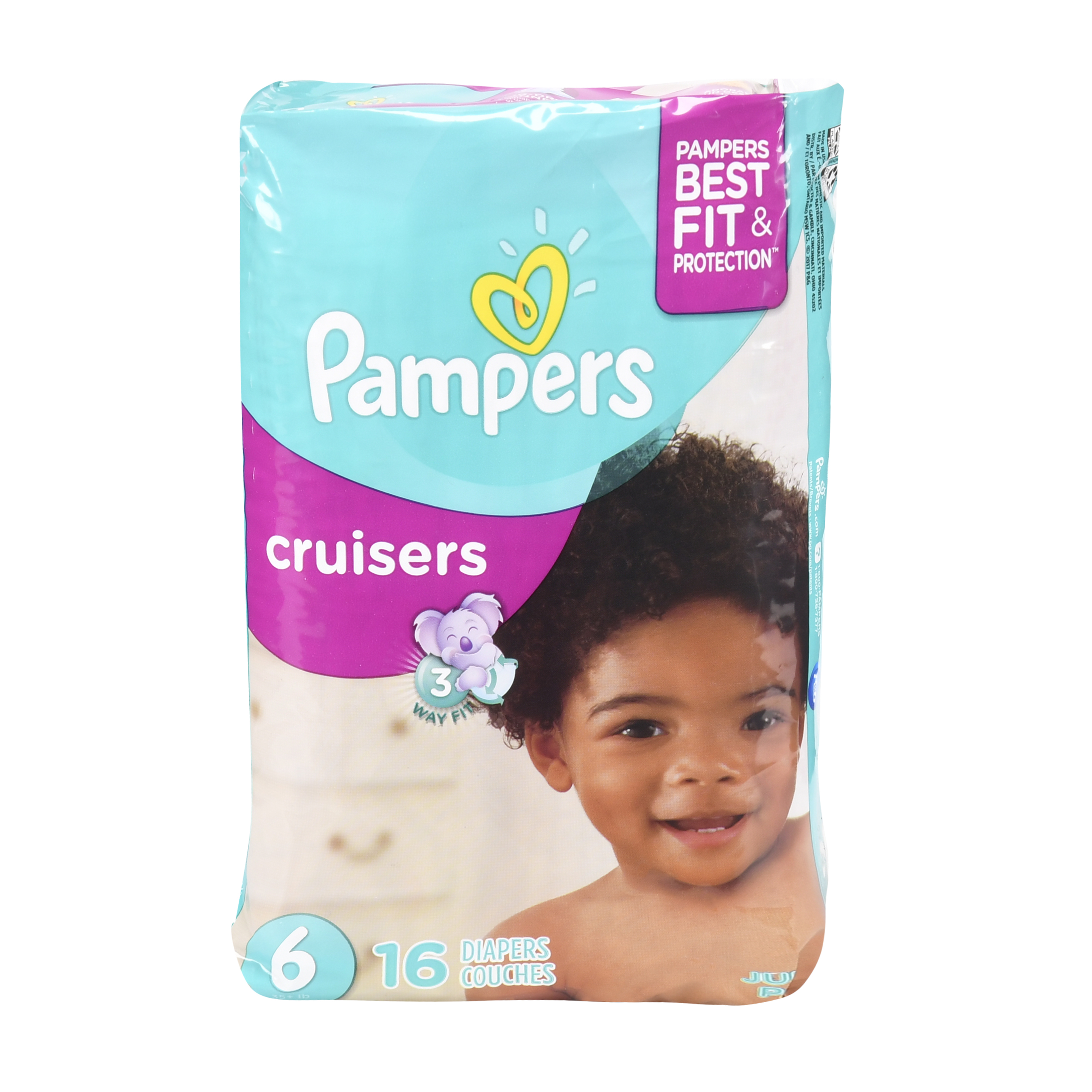 Pampers Cruisers Size 6 Jumbo Pack 16ct