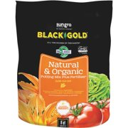 Black Gold 8 Qt. 8 Lb. All Purpose Natural & Organic Potting Soil 1402040.Q08P