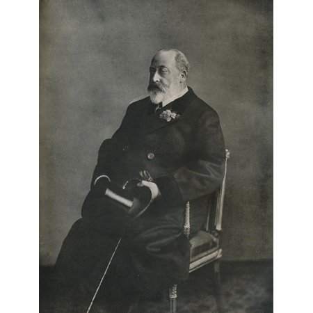 King Edward VII in private life, c1903 (1911) Print Wall Art By WS