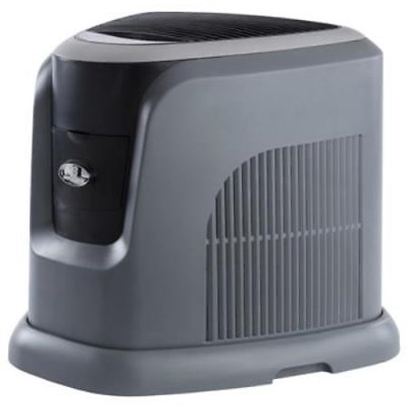 NEW Mini Console Humidifier Silver & Gray Finish 12 Gallon Output Per - Silver Finish Supports