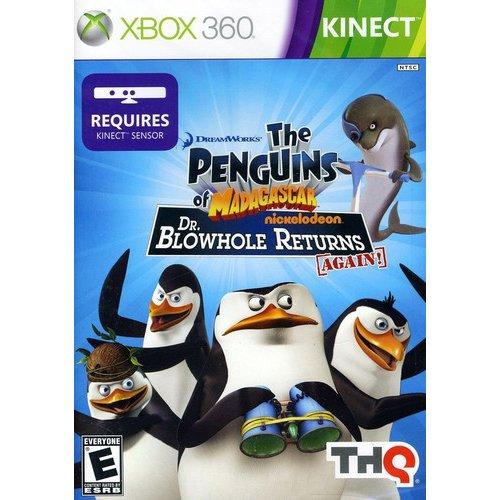 Kinect Penguins of Madagascar: Dr. Blowhole Returns Again (Xbox 360)