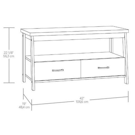 "Mainstays Logan TV Stand for TVs up to 47"", Multiple Finishes"