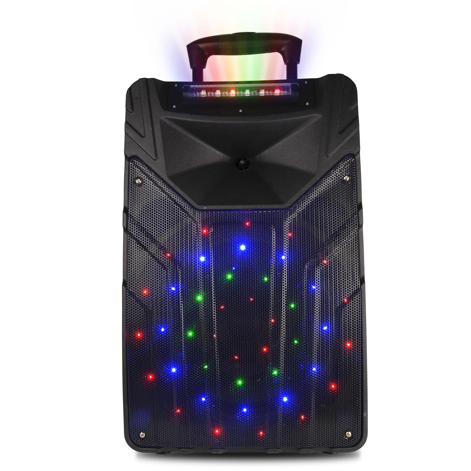 """Naxa 15"""" Wireless Dance Light Karaoke Speaker"""