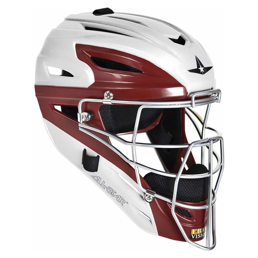 Allstar MVP2510WTT Two Tone Youth Catchers Helmet