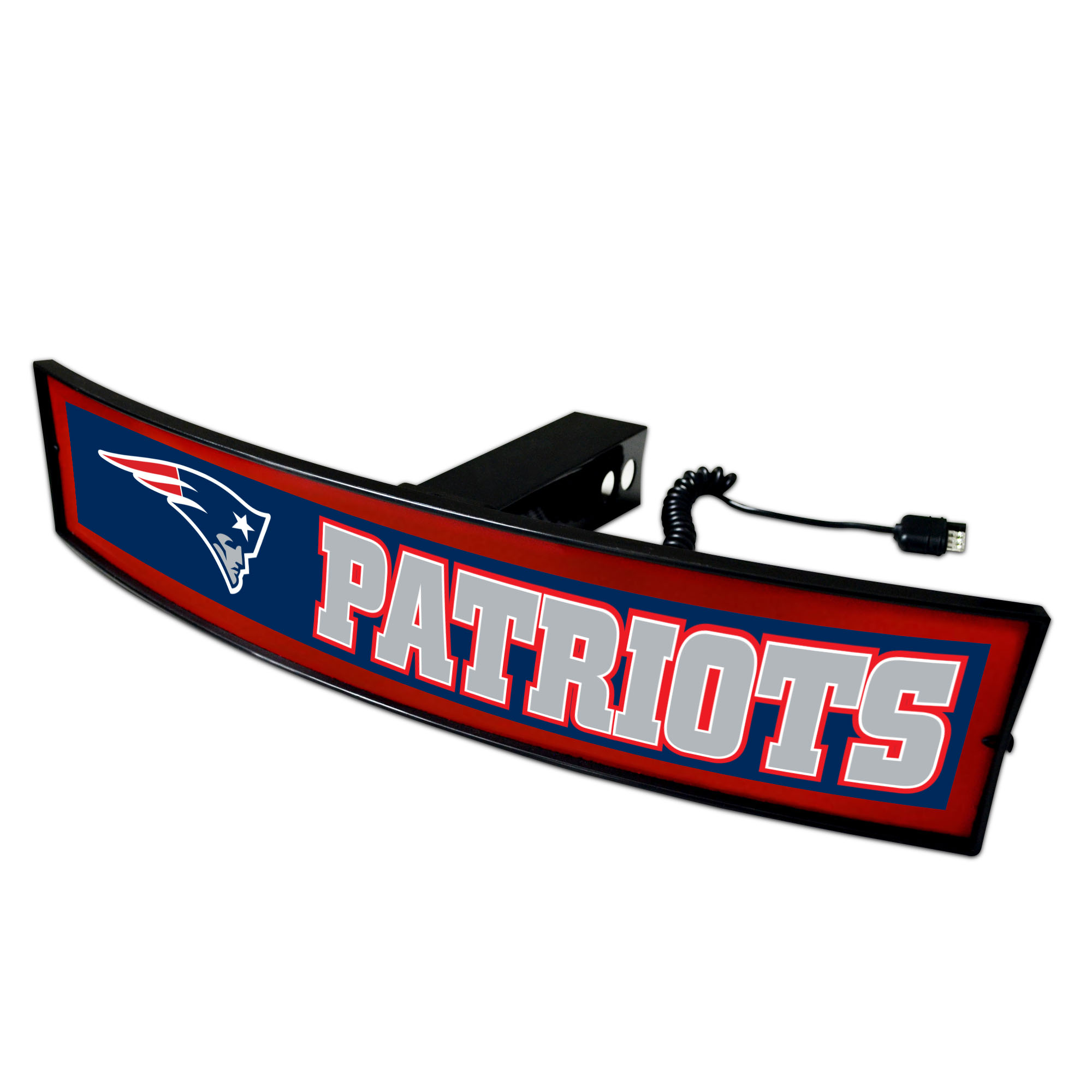 """NFL - New England Patriots Light Up Hitch Cover 21""""x9.5"""""""