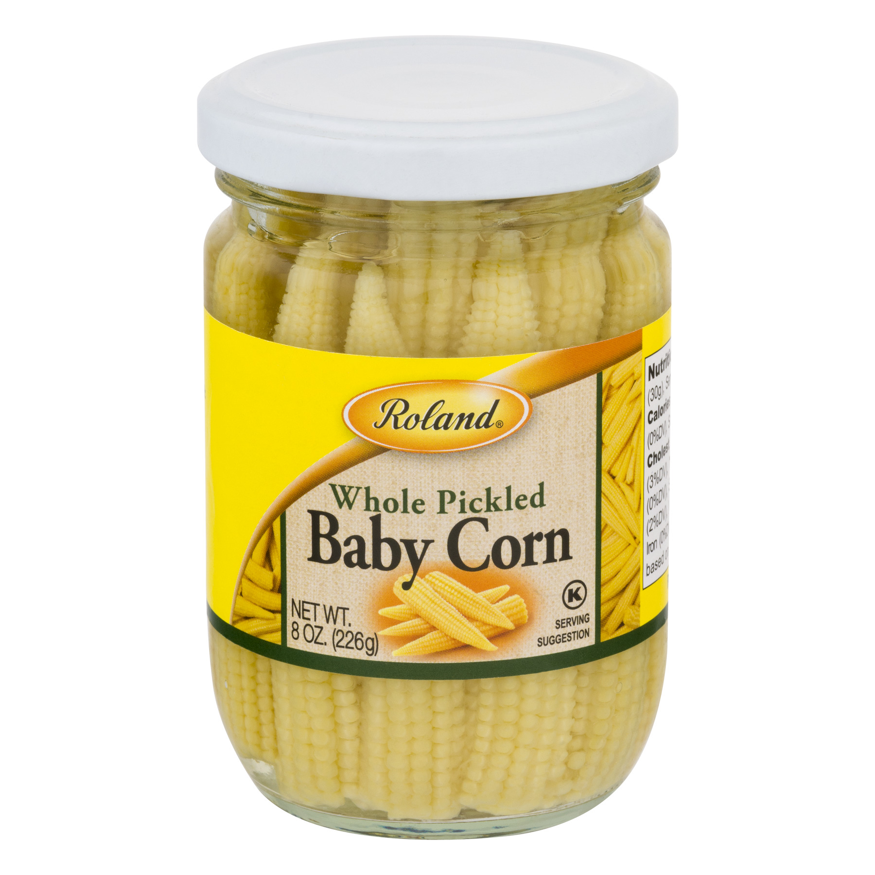 Roland Whole Pickled Baby Corn, 0.0 OZ