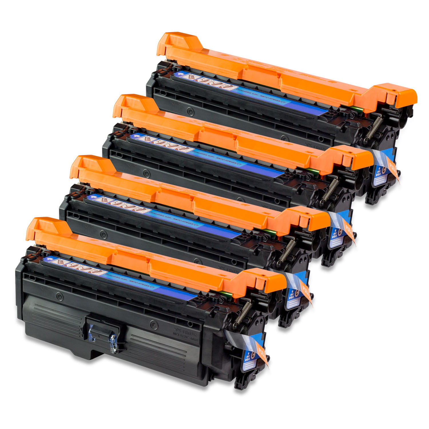 4PK Cyan - SOJIINK Compatible with HP CE261A for HP Color...