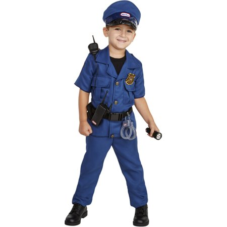 Little Tikes Police Officer Toddler Costume With Tools](Police Officer Adult Costume)