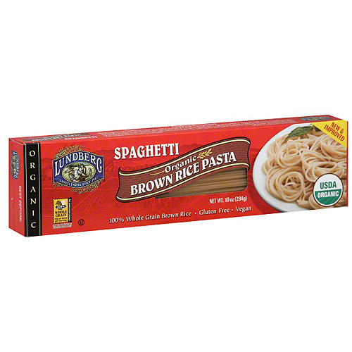 Lundberg Family Farms Organic Brown Rice Spaghetti, 10 oz (Pack of 6)