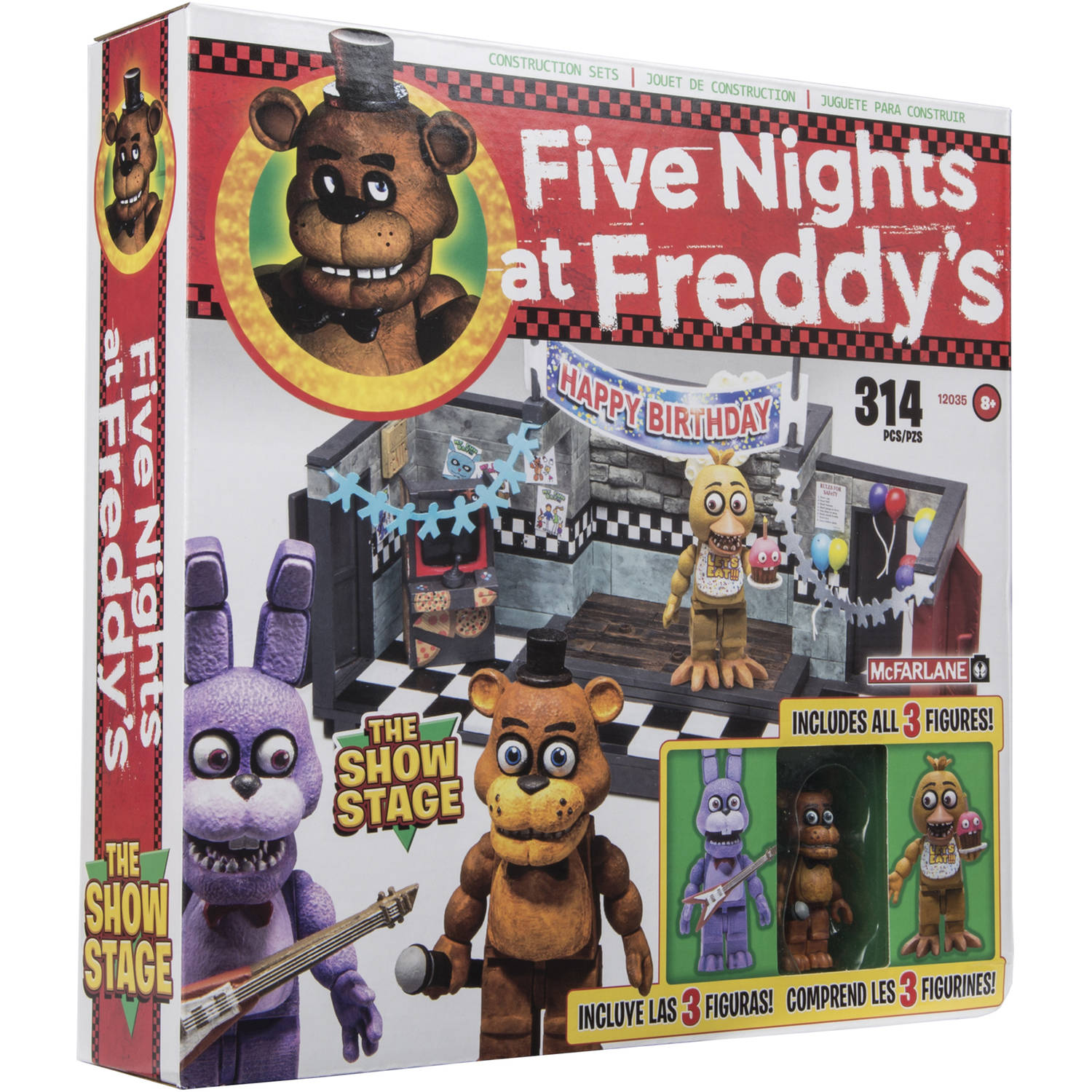 Mcfarlane Five Nights at Freddy's Show Stage
