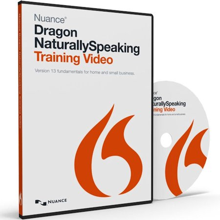 Nuance 31-K61A-23110 Dragon Naturally Speaking 13. Training Video Software Training Video