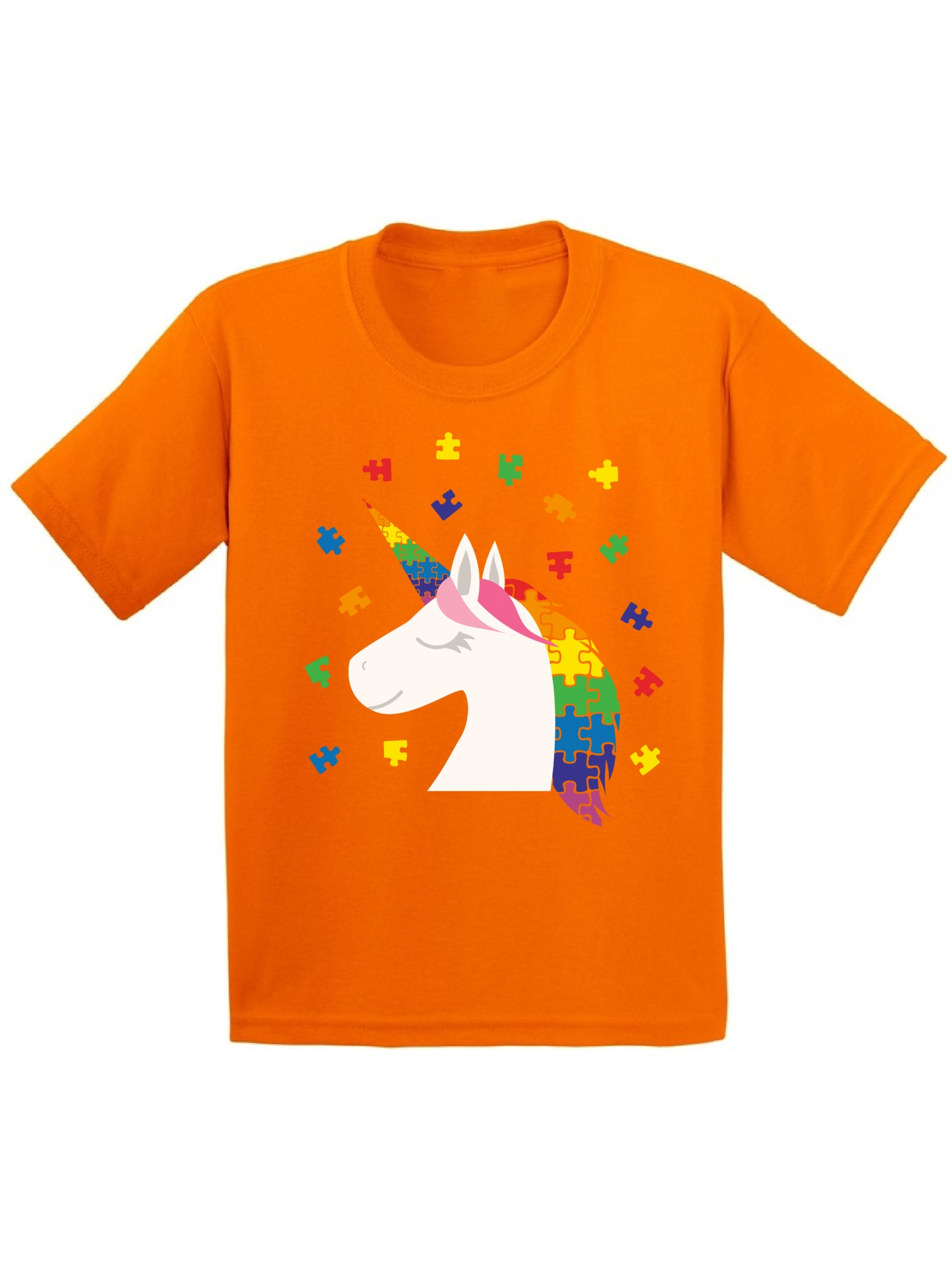 Awkward Styles Youth Unicorn Autism Shirt for Kids Autism Awareness Shirt Puzzle Autism Gifts for Kids Autistic Kids Gift Ideas Autism Awareness Shirts Kids Autism Gifts Awareness Gifts