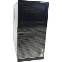 Refurbished Dell Black 790 Desktop PC with Intel Core i5 Processor, 8GB Memory, 2TB Hard Drive and Windows 10 Pro (Monitor Not Included)