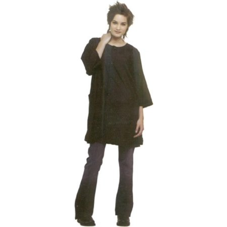 Spectrum Cover-up #9204 Classic Style * Black, Lightweight, easy-care crinkle nylon * One size fits most By Andre Classic Black 1 Light