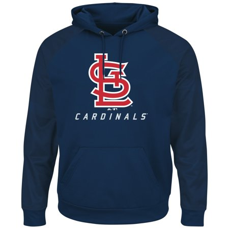 "St. Louis Cardinals Majestic MLB ""Armor 2"" Mens Pullover Hooded Sweatshirt by"