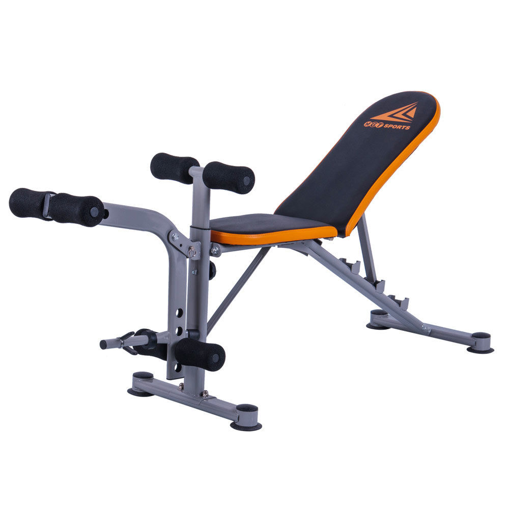 ktaxon mgt 4305s adjustable weight bench abs workout