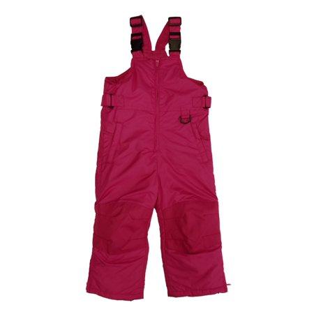 bf9636418 Toddler   Little Girls Hot Pink Water Wind Resistant Snow Bib ...