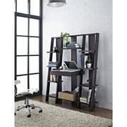 Altra Furniture Ladder Bookcase With Desk In Espresso Finish