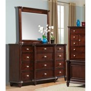 Picket House Furnishings Gavin Dresser with Mirror in Cherry