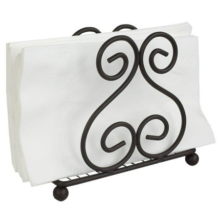 Napkin Holder (Bronze), Made from powder coated steel By Home Basics