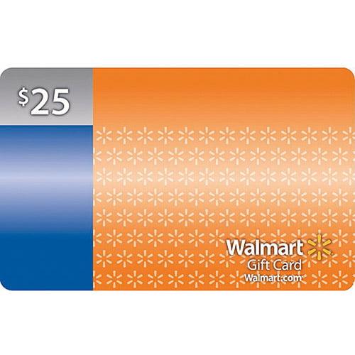 $25 Walmart Gift Card