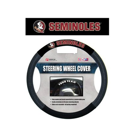 - NCAA Florida State Seminoles Poly-Suede Steering Wheel Cover