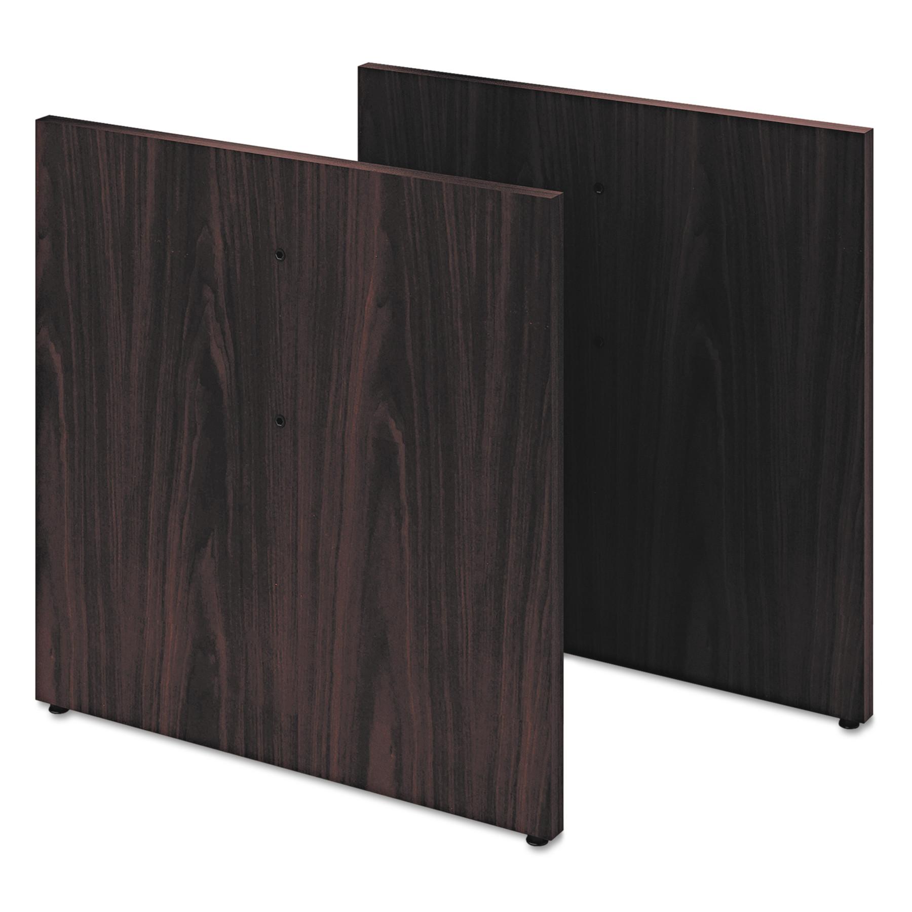 HON Preside Conference Table Panel Base, 28 x 27 3/4, Mahogany