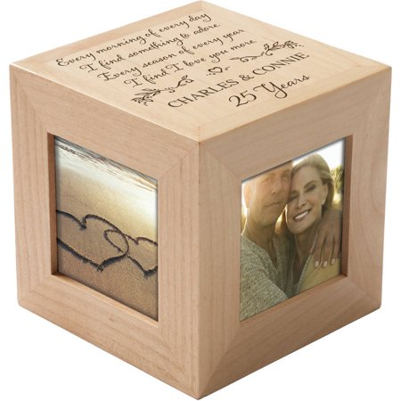 Personalized I Love You More Photo Cube](Photo Cubes)