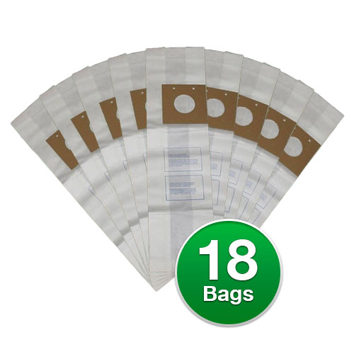 Replacement Vacuum Bags for Eureka Style U Type: 2 Ply Mi...