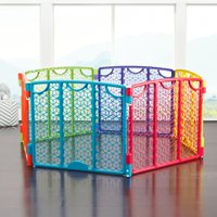 Evenflo Versatile Playspace Indoor/Outdoor Gate, Multi Color